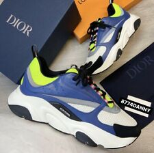 DIOR B22 TRAINERS SNEAKERS UK 10 EU 44 100% AUTHENTIC VERY RARE