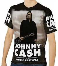 Johnny Cash Herren Kurzarm T-Shirt Tee wa1 aao20164