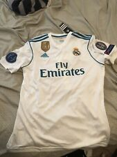 Real Madrid Cristano Ronaldo  2017/18 Home Jersey Size Mens L