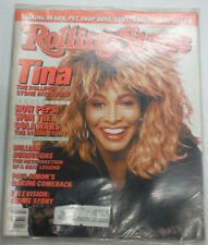 Rolling Stone Magazine Tina Turner Pepsi & Cola Wars October 1986 021715R
