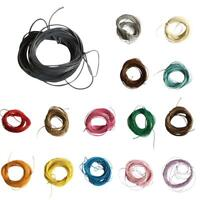 10m Waxed Nylon String Macrame Cord Thread for DIY Making Jewelry Beading 1mm