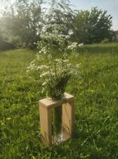 Handmade vase from beech wood. Exclusive design.