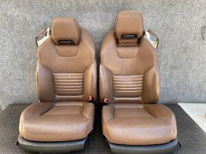 ✔MERCEDES R231 SL550 SL400 FRONT HEATED AC LEATHER SEAT SEATS  CUSHION SET OEM