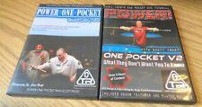 Scott Frost Pool Billiards One Pocket Power Package 1 & 2  - 2 DVD Set LOOK !!!!