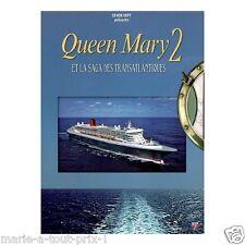 Libro + DVD SAGA EL TRANSATLÁNTICO QUEEN MARY 2 NEUF sous CELOFÁN barcos