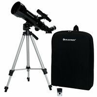 Celestron Terrestrial Astronomical Compact Telescope Travel Scope 70x400 21035