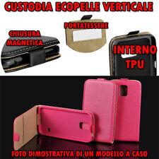 Custodia per Huawei Honor 5X Fucsia in Ecopelle apertura verticale cover TPU