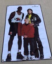 Michael Jordan Canvas vinyl banner movie poster Michael Jackson air shoes 23