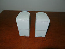 "BOSE PREMIUM JEWEL CUBE SPEAKERS ""Genuine Made By Bose"""