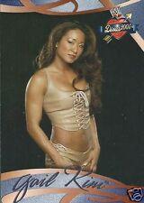 Gail Kim Divas 2005 Trading Card #52 WWE WWF TNA Knockout