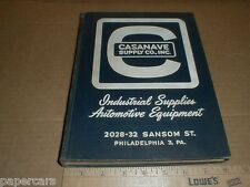 Vintage 1960 Casanave Supply Co Auto Carpenter Machinist Tools Supply Catalog