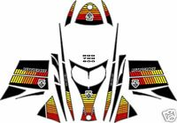 RETRO SLED WRAP for SKI-DOO REV 03-07, mxz renagade summit decal