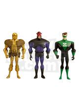 DC UNIVERSE JLU GOLD FACE, EVIL STAR, KYLE RAYNOR  MATTY  EXCLUSIVE MOC/MIB