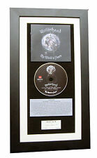 MOTORHEAD The World Is Yours CLASSIC CD GALLERY QUALITY FRAMED+FAST GLOBAL SHIP