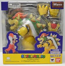"Bandai Tamashii Nations S.H.Figuarts BOWSER ""Super Mario"" Action Figure NIP"
