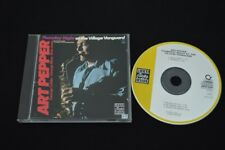 ART PEPPER THURSDAY NIGHT AT THE VILLAGE VANGUARD ULTRA RARE CD! JAZZ