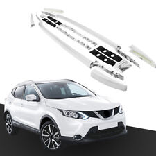 Baggage Luggage Roof Rack Rails for Nissan Qashqai 2014-2018 Bar Aluminum