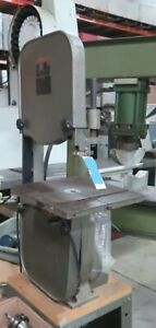 """King 14"""" Vertical Band Saw w/ 14"""" x 14"""" Table"""