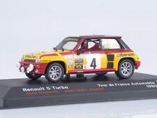 Scale model 1/43 Renault 5 Turbo, Jean Ragnotti- Jean-Marc Andrie