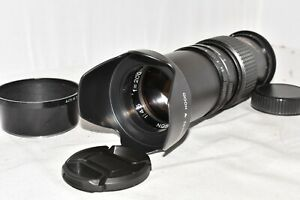 Nikon DSLR DIGITAL fit 200mm portrait lens  D3100 D3200 D3300 D3400 D3500 & more