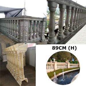 89CM Roman Column Concrete Plaster Cement Casting Railing Moulds Balustrade Mold