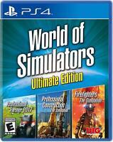 World of Simulators [Playstation 4] by UIG Entertainment