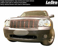 Vinyl LeBra Front End Cover Jeep Grand Cherokee 55994-01 Black