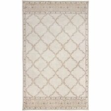 Pier 1 imports 5' x 8' Danna Ivory Round Handmade Contemporary Woolen Area Rugs
