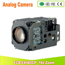 Yunsye Livraison gratuite SONY CCTV Sony Caméra Zoom Module FCB-EX480CP Couleur