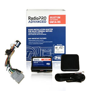 PAC GM1A-RS RadioPRO Advanced Interface for GM Vehicles Retains SWC & Amplifier