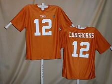 Texas Longhorns #12 FOOTBALL JERSEY XL NWT   ka
