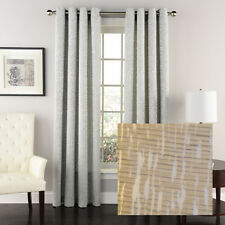 """Ridgewood Jacquard Curtain with Grommets, Sand, 63"""", by Lorraine Home Fashions"""