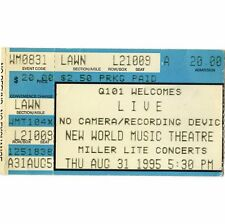 LIVE & PJ HARVEY & VERUCA SALT & BUFFALO TOM Concert Ticket Stub 8/31/95 CHICAGO