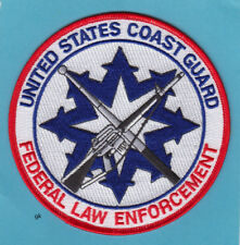 Us Coast Guard Federal Law Enforcement Police Patch