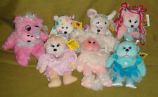 7 Beanie Kids - rare and retired - all in mint condition with tags