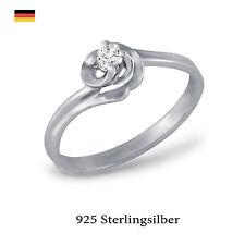 Beschichtete Echtschmuck-Ringe im Solitär-Stil