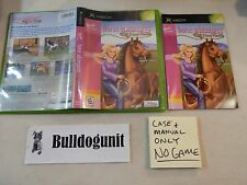Barbie Horse Adventures Original Xbox Case & Manual Only NO Game