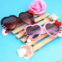 Cute Boys Girls Heart Shaped Sunglasses Children Eyewear Kids Shades UV400