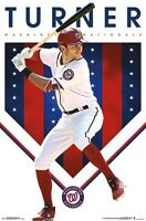 TREA TURNER - WASHINGTON NATIONALS POSTER - 22x34 - MLB BASEBALL 17646