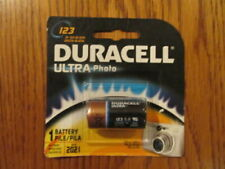 Duracell Ultra Photo Lithium Battery, 3V 123