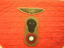 13TH AERO SQUADRON GROUP, WINGS, PATCH, ID CARD, PHOTOS, DOG TAG.