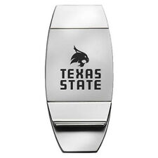 Texas State University - Two-Toned Money Clip