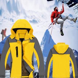 Winter Ski Unisex Rainproof Snow Windproof Outdoor Sports Hiking Jacket Coat New