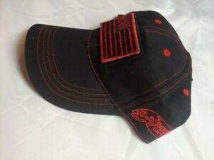 Voodoo Tactical Classic Cap with Removable Flag Patch black red