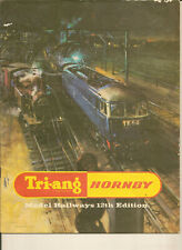 TRI-ANG HORNBY RAILWAYS Ed 12 1966 OO Catalogue Collectable Triang Rovex Trains