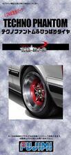 Fujimi Models 1/24 14inch Techno Phantom Wheels & Tyres Set (4 Wheels w/ Tyres)