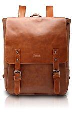 Women School Vintage Backpack Horse Leather Crazy Bag Fashion Genuine Leather