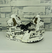 DIESEL I'M PRESSION MID SHOES SNEAKERS LIMITED EDITION SOLD OUT SIZE 8.5 US