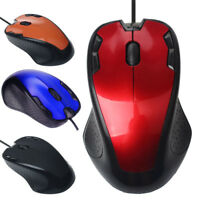 1.5m Luxury 1800 DPI USB Wired Optical Gaming Mice Mouse Ergonomic For PC Laptop
