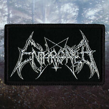 Enthroned | Embroidered Patch | Belgium | Belgian Black Metal Band
